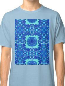 Floral abstract pattern Classic T-Shirt