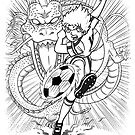 Dragon Shot Manga by andresMvalle