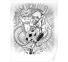 Dragon Shot Manga Poster