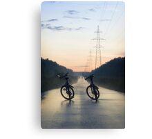 Evening Road after Rain Canvas Print