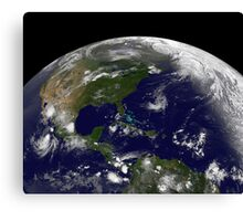 Tropical storms on planet Earth. Canvas Print