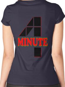 ♥♫Hot Fabulous K-Pop Girl Group-4Minute Cool K-Pop Clothes & Phone/iPad/Laptop/MackBook Cases/Skins & Bags & Home Decor & Stationary♪♥ Women's Fitted Scoop T-Shirt