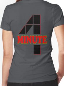 ♥♫Hot Fabulous K-Pop Girl Group-4Minute Cool K-Pop Clothes & Phone/iPad/Laptop/MackBook Cases/Skins & Bags & Home Decor & Stationary♪♥ Women's Fitted V-Neck T-Shirt