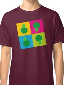 Popart Broccoli Classic T-Shirt