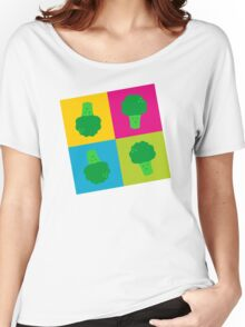 Popart Broccoli Women's Relaxed Fit T-Shirt