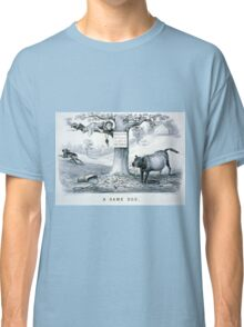 A game dog - Currier & Ives - 1879 Classic T-Shirt