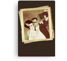 1937 Valentines Day Photo Canvas Print