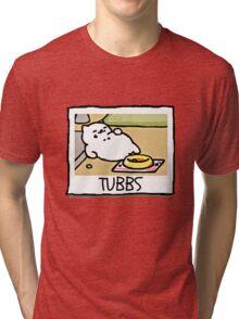 TUBBS Neko Atsume Tri-blend T-Shirt