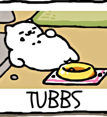 TUBBS Neko Atsume Sticker