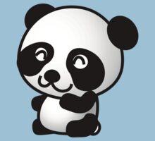 Cartoon Panda One Piece - Short Sleeve