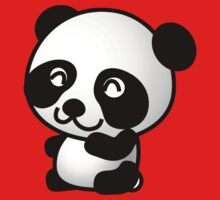 Cartoon Panda Kids Tee