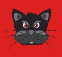 Cartoon angry kitty One Piece - Long Sleeve