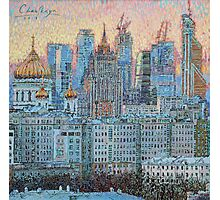 Moscow City Photographic Print