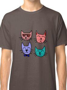 Cool Cartoon Cats Classic T-Shirt