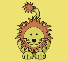 Cartoon Lion Baby Tee