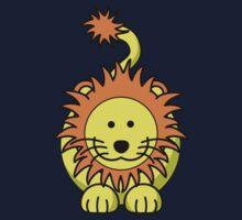 Cartoon Lion Kids Tee