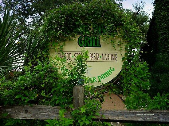 Overgrown Restaurant by Charmiene Maxwell-Batten