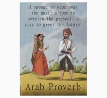 A Sponge To Wipe Away - Arab Proverb Kids Tee