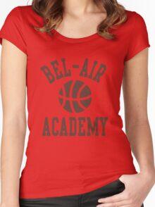 Fresh Prince Bel-Air Academy Basketball Shirt Women's Fitted Scoop T-Shirt