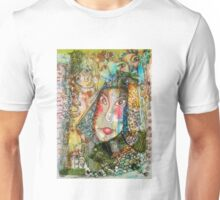 Doe Eyed Girl and her Spirit Guides Unisex T-Shirt