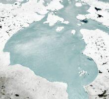 Hudson Bay sea ice on April 29, 2006. Sticker