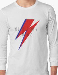 DAVID BOWIE HERO Long Sleeve T-Shirt
