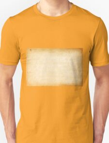 Old bright vintage paper texture background T-Shirt