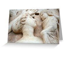 Roman Relief of Mother and Child, Aphrodisias Greeting Card