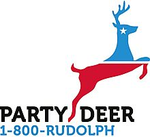 Political Party Animals: Reindeer Photographic Print