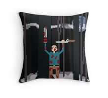 Ash versus The Evil Dead Pixel fanart Throw Pillow