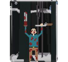 Ash versus The Evil Dead Pixel fanart iPad Case/Skin
