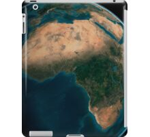 Full Earth from space above the African continent.  iPad Case/Skin