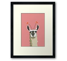 Llove You Framed Print