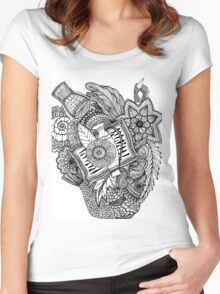 Mandala Tumbegini Women's Fitted Scoop T-Shirt