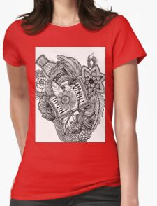 Mandala Tumbegini Womens Fitted T-Shirt