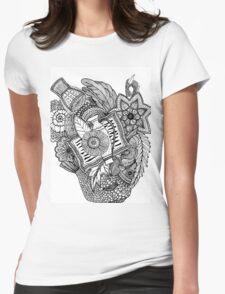 Mandala Tumbegini Womens Fitted T-Shirt