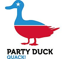 Political Party Animals: Duck Photographic Print