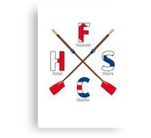 Frank Hell Sport Club - A brand new Brand Navy Canvas Print
