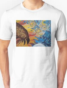 Vincent Van Gogh Sunflowers Starry Night T-Shirt