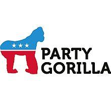 Political Party Animals: Gorilla Photographic Print
