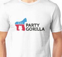 Political Party Animals: Gorilla Unisex T-Shirt