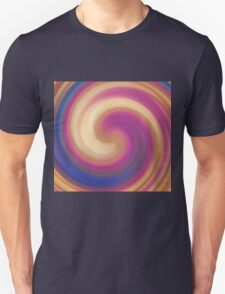 Abstract vintage illustration with stripes T-Shirt