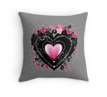 I_Love_You Hearts Throw Pillow