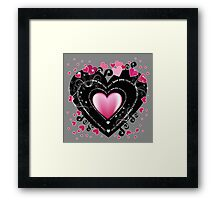 I_Love_You Hearts Framed Print