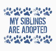 My Siblings Are Adopted Kids Tee