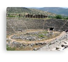 Hercules Tunnel At the Stadium of Aphrodisias Canvas Print