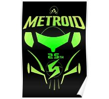 Metroid 25th Poster