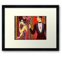 The playful age Framed Print