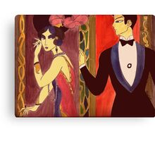 The playful age Canvas Print