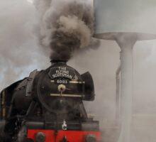 Flying Scotsman getting under steam. Sticker